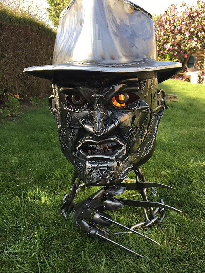Freddy Krueger Wood Burner