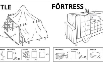 IKEA Furniture Forts