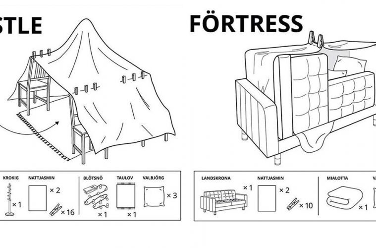 IKEA Furniture Forts