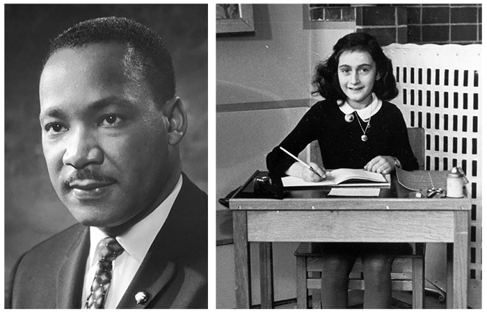 Interesting Facts Martin Luther King Jr. and Anne Frank