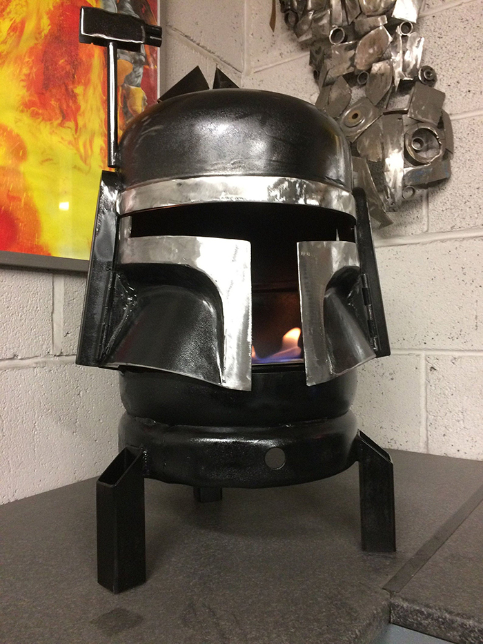 Star Wars Boba Fett Wood Burner