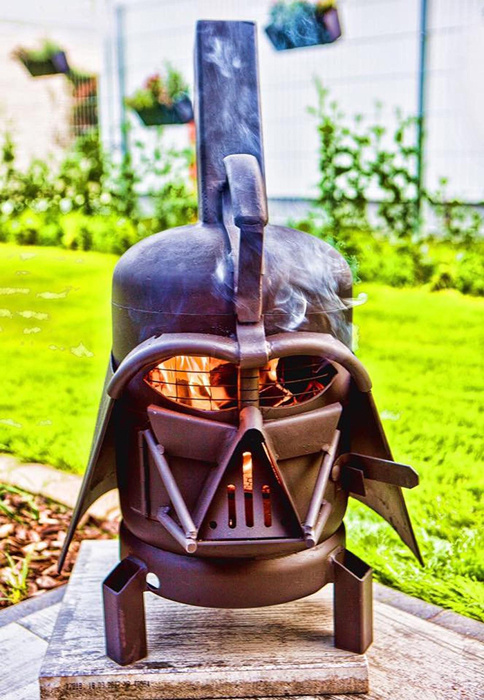 Star Wars Darth Vader Grill
