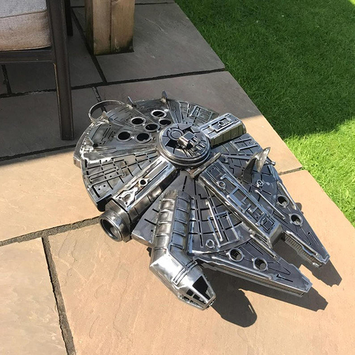 Star Wars Millennium Falcon Wood Burner