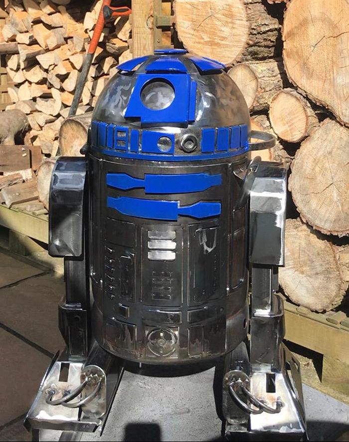 Star Wars R2D2 Fire Pit