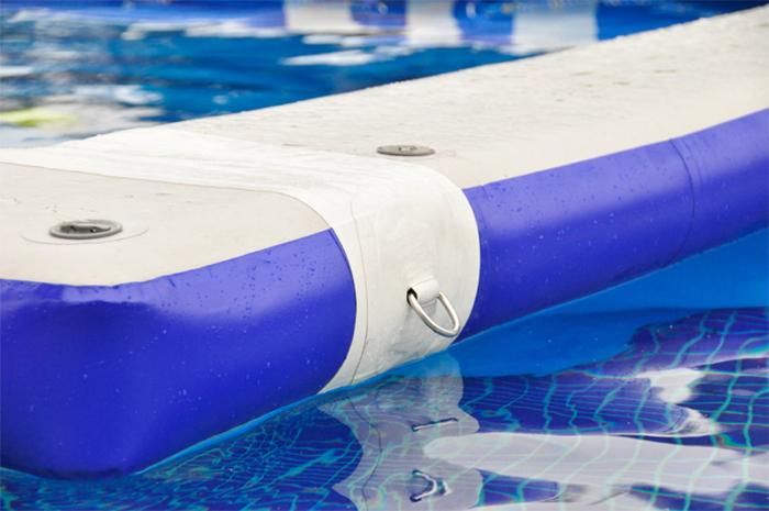aquaglide water enclosure side attachment