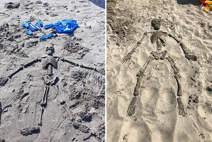 bag o bones beach skeleton results