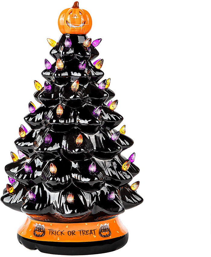 black ceramic tree