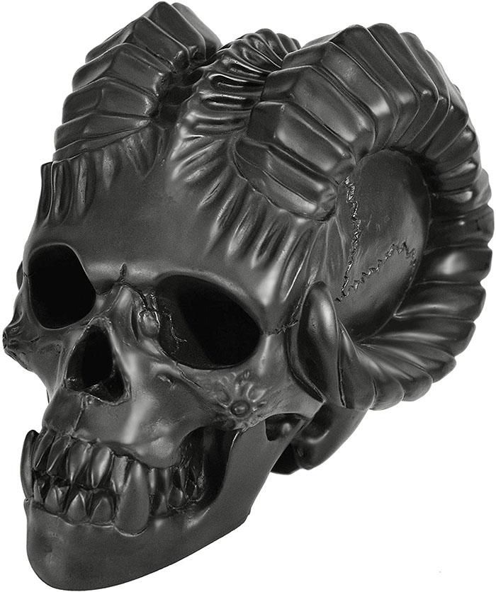 black demon fireproof skull