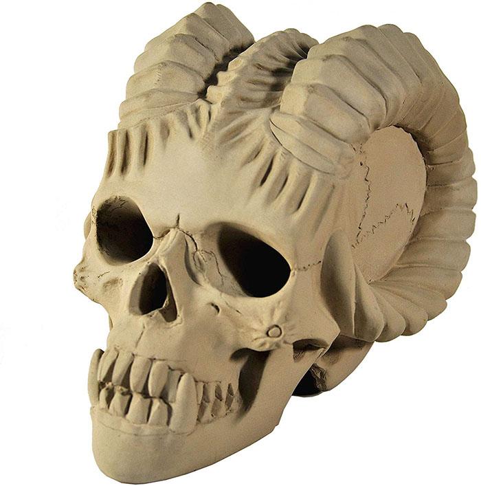 brown demon skull fireproof