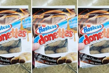 caramel chocolate donettes