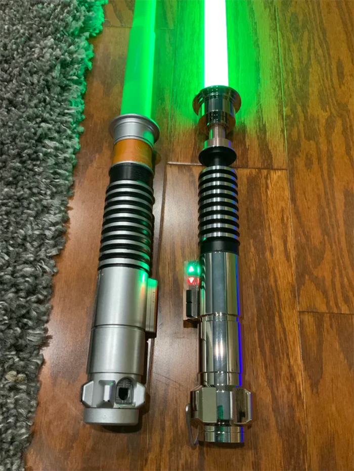 cheap vs expensive lightsabers