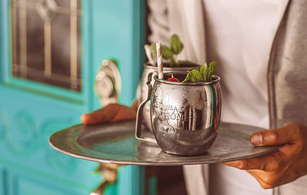 chilled mule mug