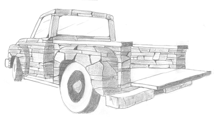 chris miller stone truck project