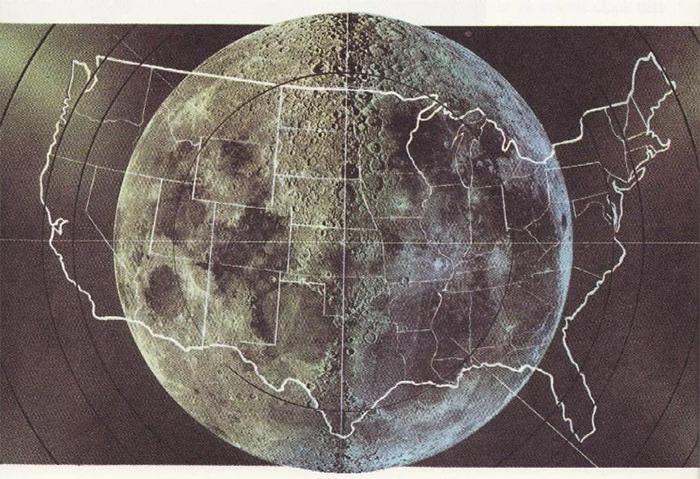 comparison images moon vs usa