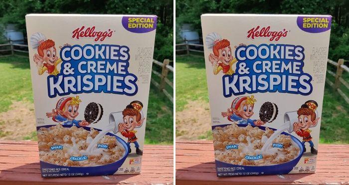 cookies & creme krispies