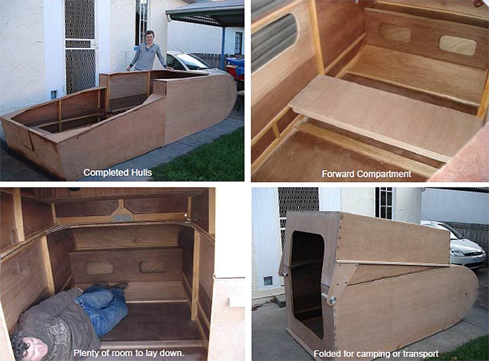 diy dual function mini camper cruiser