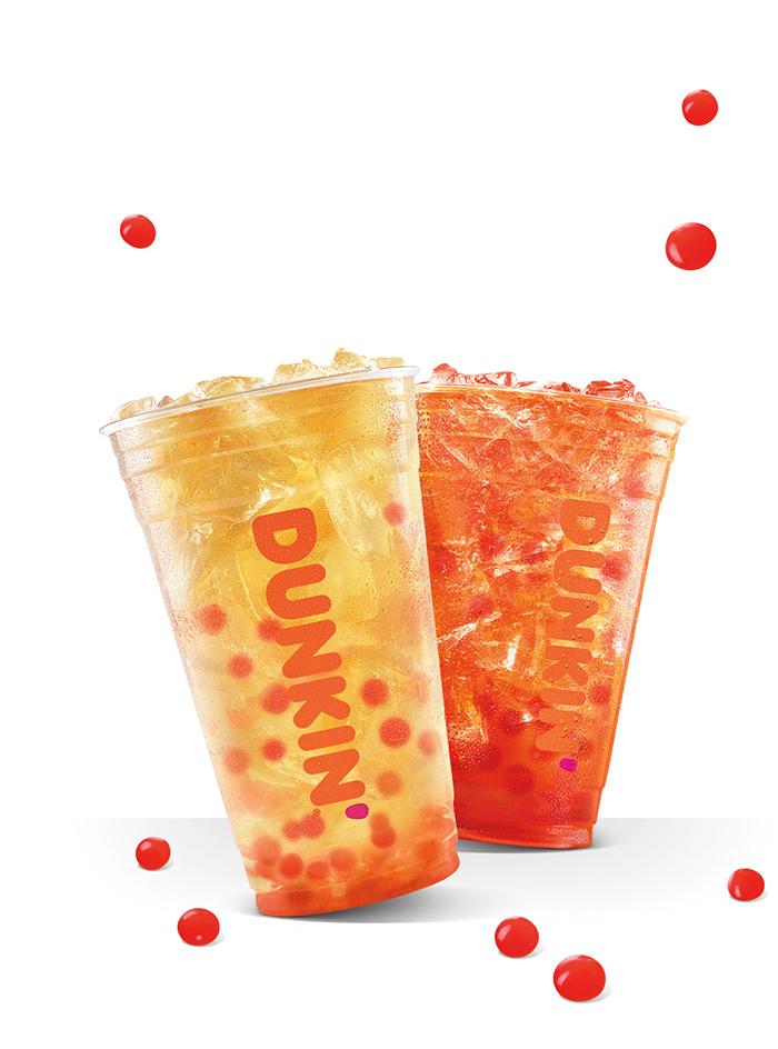 dunkin bubble tea drinks