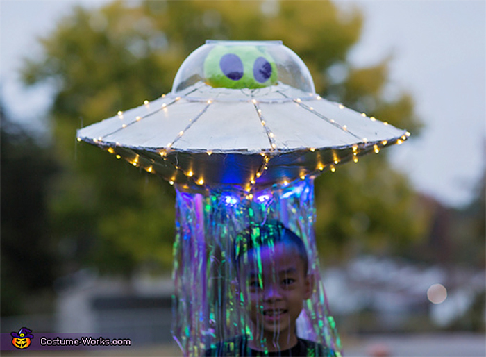 flying saucer halloween outfit