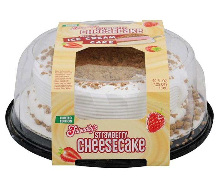 friendlys strawberry cheesecake ice cream cake