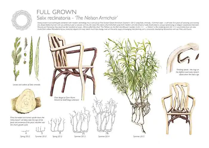 full grown nelson armchair