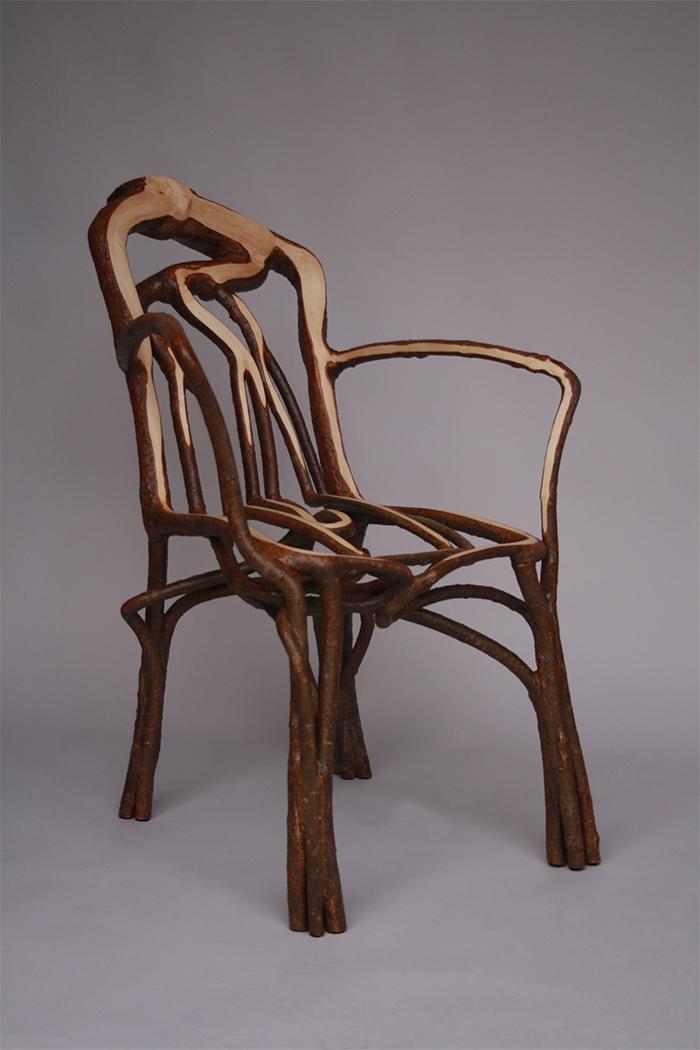full grown tree furniture gatti chair