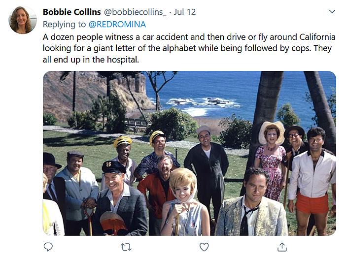 hilarious movie plot comment bobbie