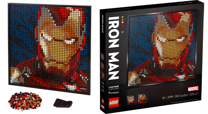immersive buildable portrait iron man