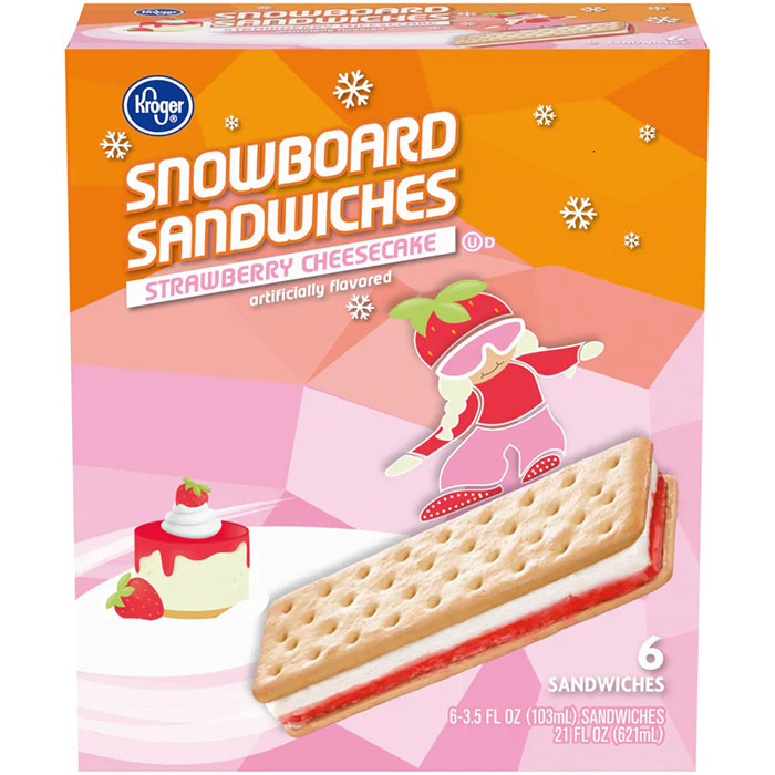 kroger strawberry cheesecake ice cream sandwiches