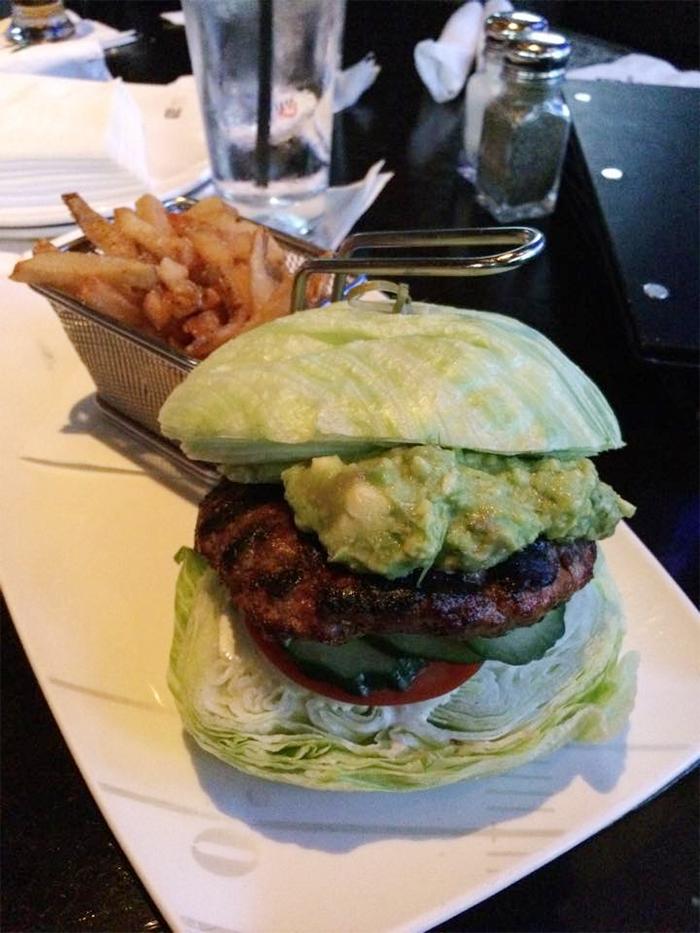 lettuce burger taken too literally