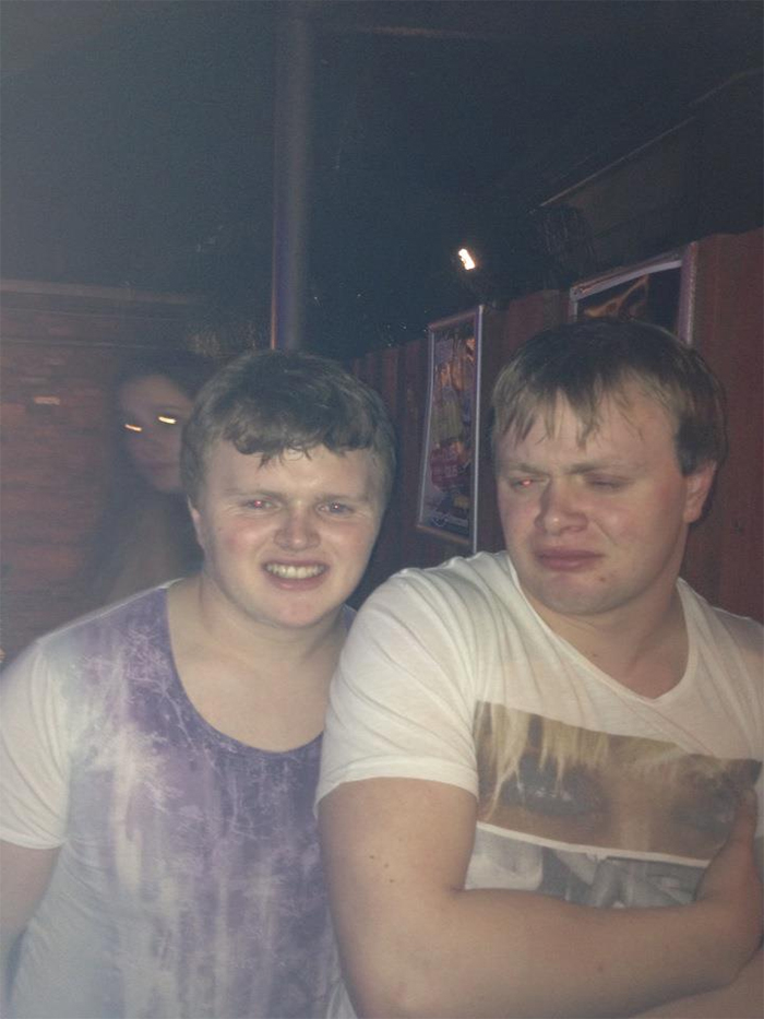 my friend met his lookalike at a night out