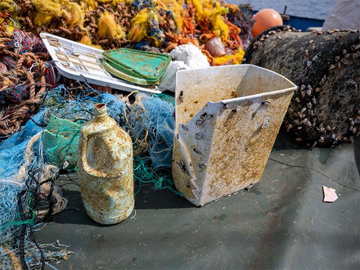 ocean plastic consumer trash found in the gyre