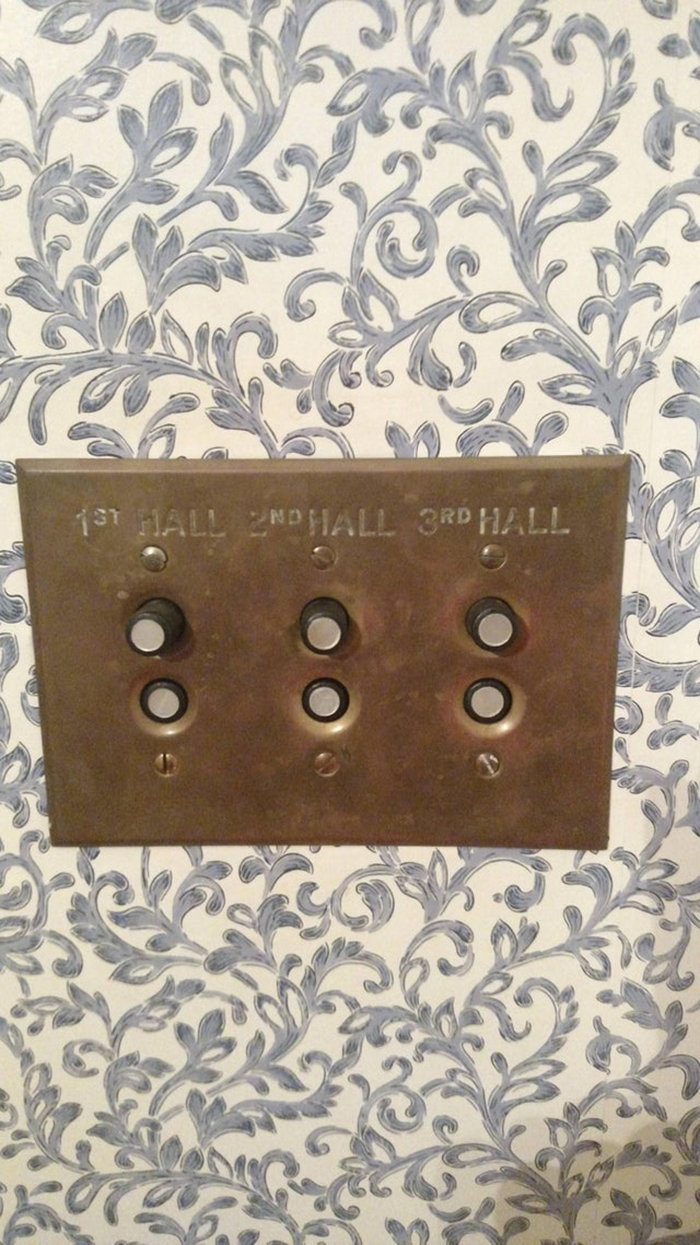 old-fashioned light switches