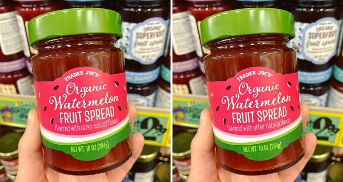 organic watermelon fruit spread