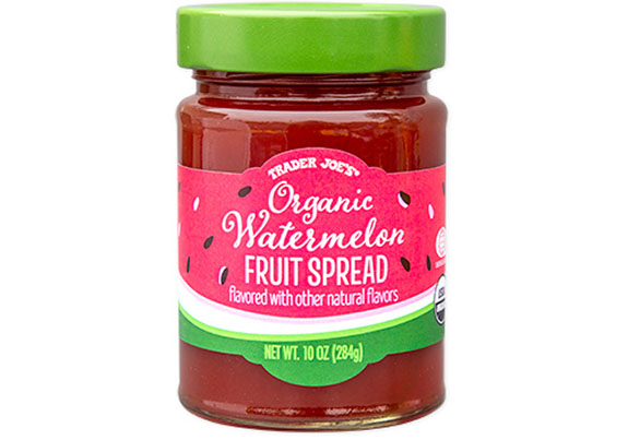 organic watermelon fruit spread