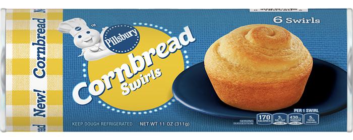 pillsbury cornbread swirls