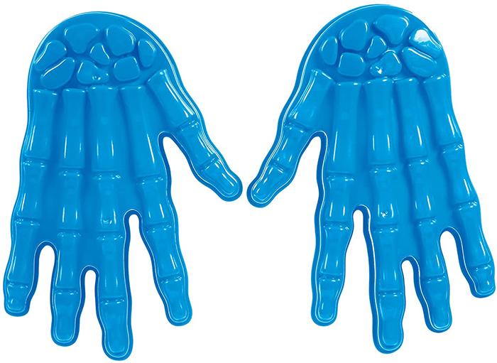 plastic sand mold hands