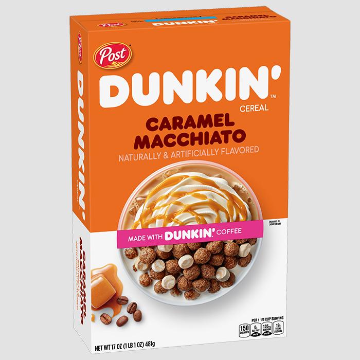 post dunkin' caramel macchiato cereal