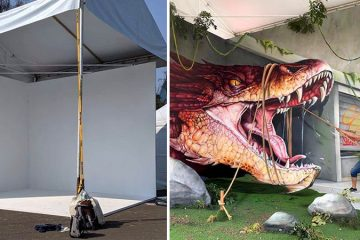 realistic 3d graffiti art