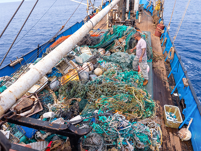record-breaking biggest ocean plastic cleanup