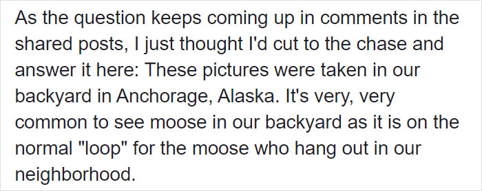 roland rydstrom facebook post moose family 3