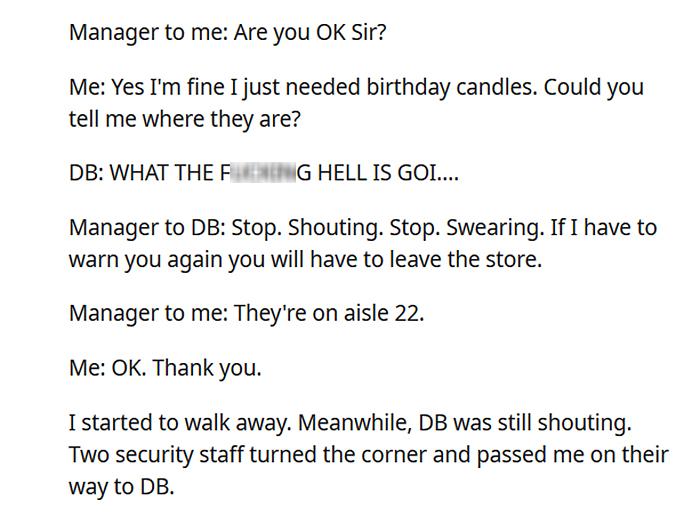 rude customer gets what she deserves