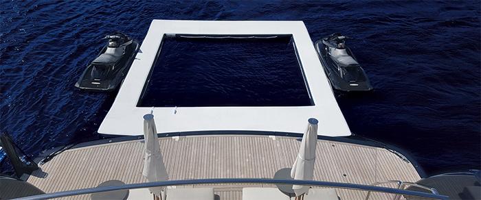 sea pool deck platform