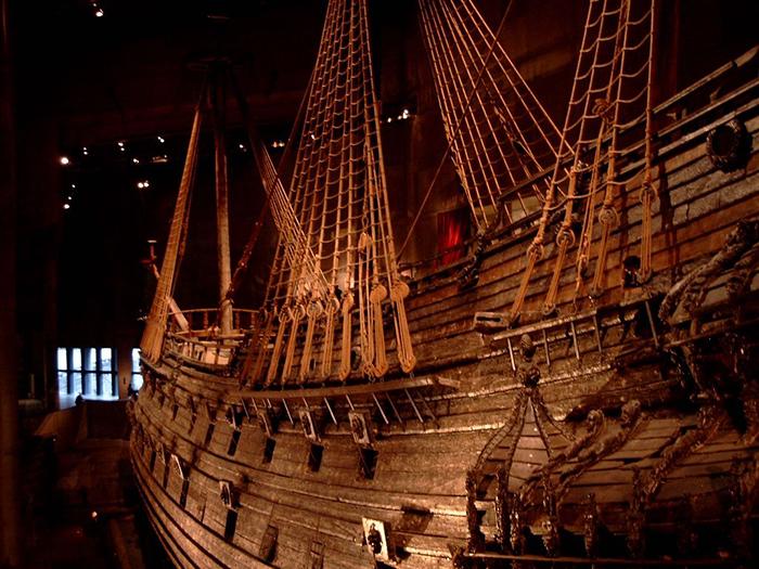 stockholm warship vasa