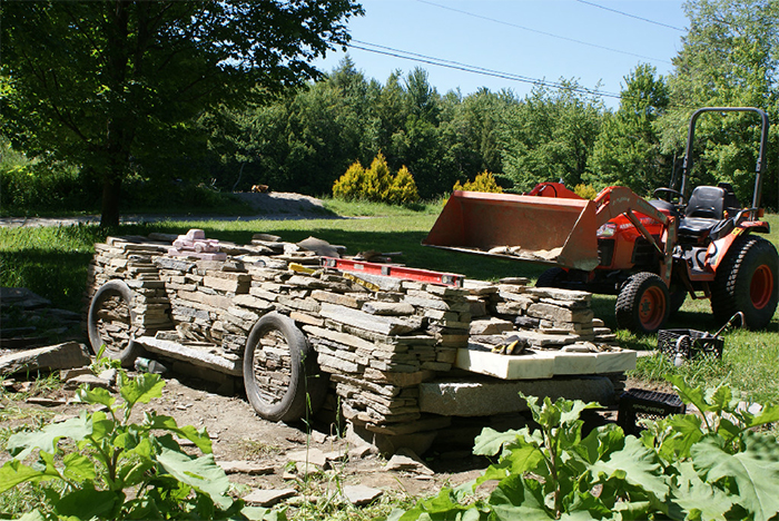 stone truck project