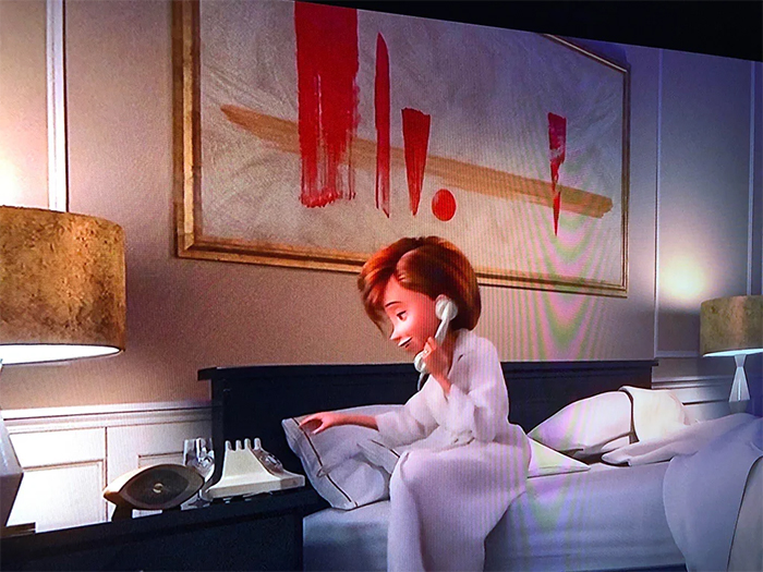surprising movie details the incredibles symbolic painting