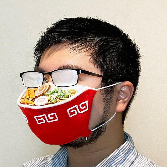 takahiro shibata ramen face mask