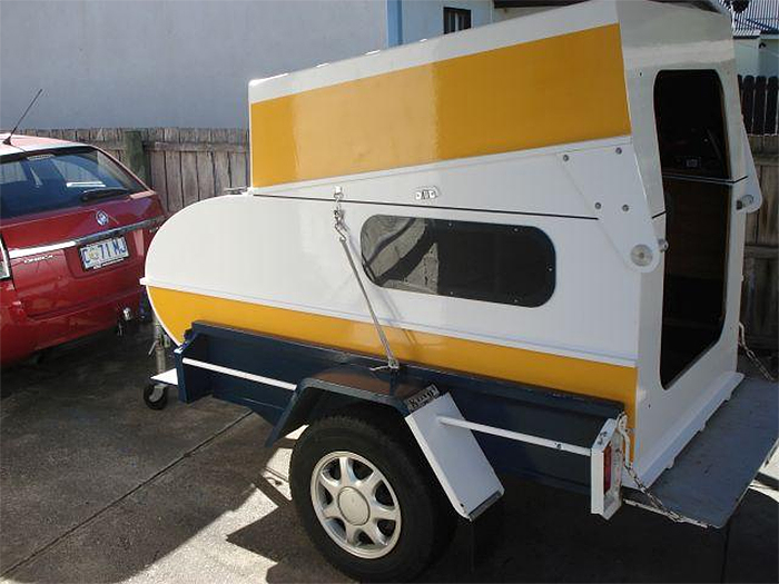 trailable mini camper cruiser