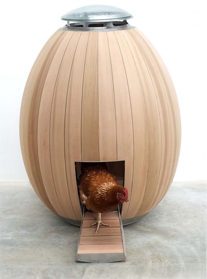 unique poultry houses egg shape