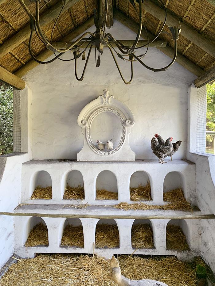 unique poultry houses greek architecture