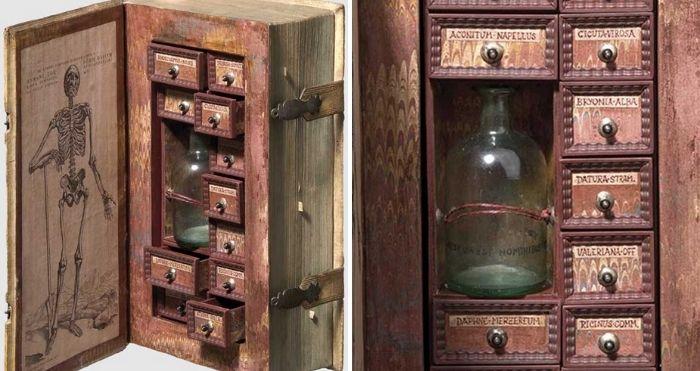 16th-century poison cabinet